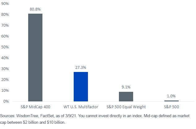 Figure 4_Percent Index Weight in Mid-Caps