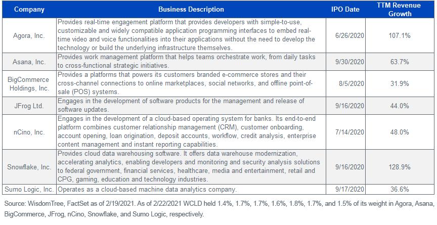 Business Descriptions