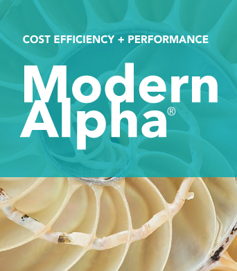 Modern Alpha™: Cost Efficiency + Performance Potential