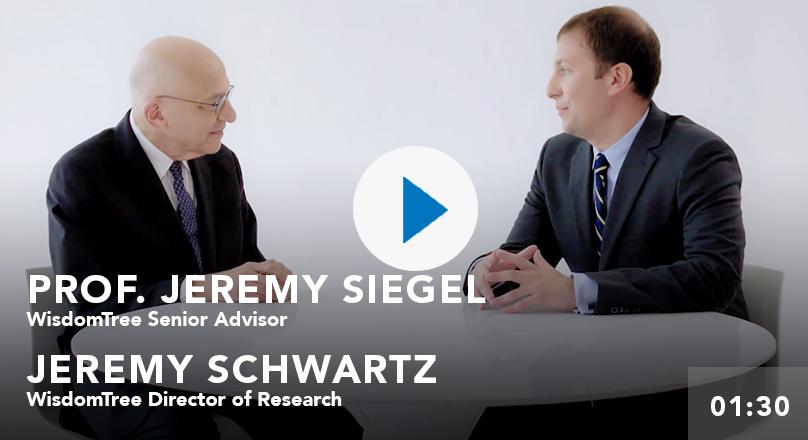 Professor Jeremy Siegel on WisdomTree